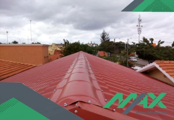 La Galvateja está hecha de acero y es un producto tipo teja que fabricamos. ¡Cotiza con nosotros! Tenemos envíos a toda la república mexicana.