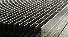Acero electroforjado, rejilla industrial de Max Acero Monterrey.