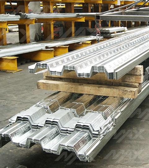 Galvadeck, lámina losacero deck 25 calidad Ternium.
