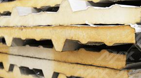 Galvatecho tipo sandwich Ternium.