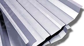 Lámina galvanizada KR-18; lámina de acero Ternium con perfil acanalado KR-18.