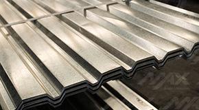 Lámina galvanizada RD 91.5 Ternium. Venta y distribución de láminas acanaladas galvanizadas.