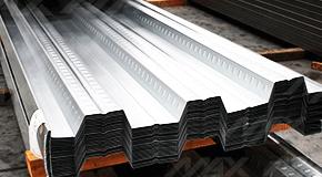 Lámina losacero 30 Ternium, acero zintro galvanizado de zinc.