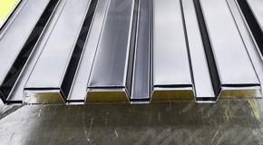 Lámina RD 91.5 de acero galvanizado zintro Ternium.