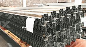 Losacero 15 de acero galvanizado calidad Ternium. Venta de lámina para entrepisos metálicos.