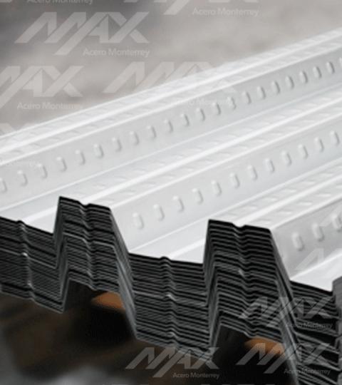 Losacero 30 Ternium galvanizada. Venta de láminas losacero de la mejor calidad.