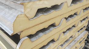 Panel Econotecho Ternium aislante. Venta de paneles tipo sandwich Ternium.