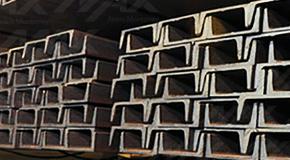 Perfil estructural CPS de acero.