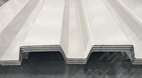 RD 91.5 pintro, lámina Ternium acanalada para cubiertas resistentes.
