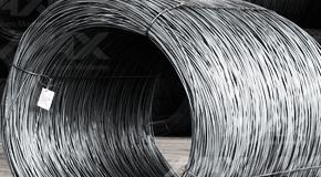 Rollo de alambrón, material de acero para refuerzo.